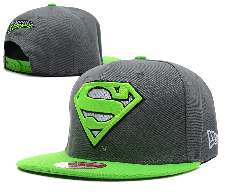 Super Man Snapback Hat 36